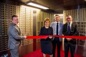 safety deposit box official opening